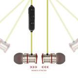 Écouteur sans fil magnétique de Bluetooth V4.1 en métal pour le sport