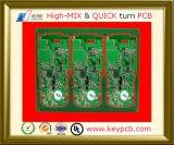 Доска PCB прототипа платы с печатным монтажом электроники OEM 10 разнослоистая для компонентов электроники