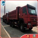 중국 상단 상표 6*4/10wheels Sinotruck HOWO 디젤 엔진 광산 덤프 트럭