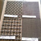 高い抗張鋼鉄鉱山のための編まれた振動スクリーンの網