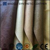 Кожа PVC конструкции способа синтетическая для софы Recliner