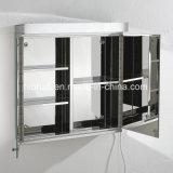 Governo 7060 dello specchio dell'acciaio inossidabile LED della mobilia della stanza da bagno