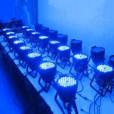 DMX 실내 단계 DJ LED 54X3watt 동위 빛
