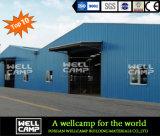 Wellcamp는 표준 강철 구조물 작업장을 주문을 받아서 만들었다