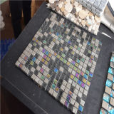 Mosaico inoxidável quadrado colorido, vidro do mosaico, telha de vidro do mosaico