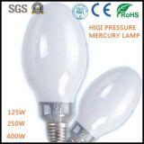Aprobado alta presión de vapor de mercurio de la lámpara de CE RoHS