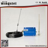 Cobertura 500 metros cuadrados de CDMA 850MHz de la sola venda del repetidor de la señal del repetidor de la señal de aumentador de presión móvil del amplificador