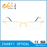 Leichte Halb-Randlose TitanEyewear Brille-Glas-optischer Rahmen (8120)