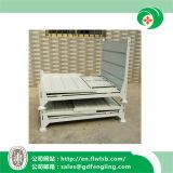 Recipiente de armazenamento do metal para o armazém com Ce por Forkfit