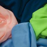poliester 75D hecho punto alineando la tela para la ropa