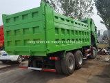 Verwendeter 6X4 Sinotruck HOWO Lastkraftwagen mit Kippvorrichtung des HOWO Kippers