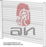 La fábrica fácilmente ensamblada 3D de Anping curvó la cerca soldada del jardín del alambre