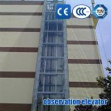 Elevador Sightseeing do elevador da observação