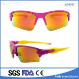 Солнечные очки спорта оптовой продажи логоса конструктора выдвиженческие изготовленный на заказ