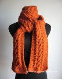 Modèle fait sur commande pour commander les châles tricotés d'écharpes faits du crochet par main