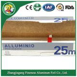 Papel de aluminio del hogar para el alimento