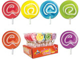 渦巻の子供のための堅いロリポップキャンデー