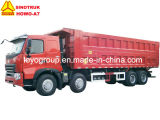 Sinotruk HOWO-A7 8X4 덤프 트럭 팁 주는 사람