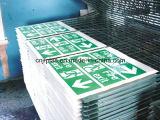 Strato bianco delle ANCHE per la scheda del contrassegno di stampa