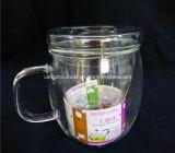 Heißes Verkaufsförderungs-Fabrik-Preis-Großverkauf-Borosilicat-Glas-Cup