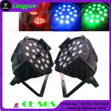 China DJ positionieren 18X10W 4in1 RGBW lautes Summen LED NENNWERT Licht
