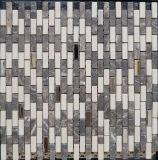 Acero inoxidable Técnica Naturaleza de piedra de mármol del mosaico de la pared de fondo (FYSM075)