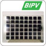 Hoog Transparant Zonnepaneel BIPV voor het Opbouwen van het Systeem van de ZonneMacht