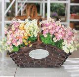 (BC-WF1033) Eco-Friendly Handmade естественная корзина цветка вербы