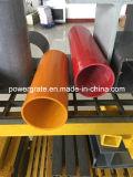 Tubo redondo de la fibra de vidrio de FRP
