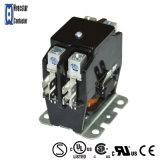 Contactor magnético eléctrico del contactor de la CA del acondicionador de aire con el certificado 2p 120V 40A de la UL