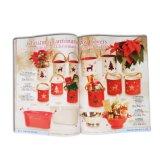 Impression de catalogue personnalisée par Noël pour la décoration