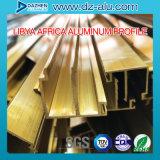 リベリアのWindowsのドアによって陽極酸化されるシャンペンの青銅のためのアルミニウム放出のプロフィール