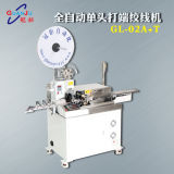 Friso automático da tira do corte do fio de Gl-02A+T que estanha e que torce a máquina