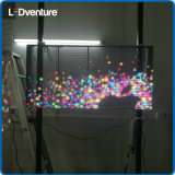 풀 컬러 정면 상표 마케팅을%s 투명한 발광 다이오드 표시 스크린