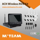 CCTV Camera DVR Kit 8CH Outdoor 2.4GHz Wireless Camera Kit (MVT-K08)