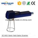 Scanner tenuto in mano Sc1403 di Galvo per la macchina 20W della marcatura del laser del metallo