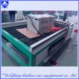 Plataforma que estampa la cortadora del plasma del CNC con la plataforma que introduce
