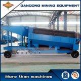 高性能の移動式金機械移動式トロンメルのプラント