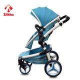 Cuatro ruedas reducen coche de bebé de la estabilidad de la vibración el buen