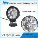 Luz del trabajo del punto del alto rendimiento 27W LED para el vehículo resistente