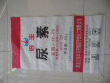 De Zak van de Zak 50kg/Rice van de Zak 50kg/PP van het Voer van pp, de Plastiek Geweven Zakken van de Rijst