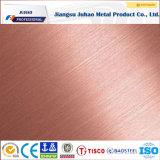 Venda quente 201 304 preço inoxidável da placa de aço de 316 cores
