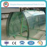 Vidrio de cristal/Tempered endurecido curva con la ISO del Ce