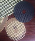 Disco del vidrio de fibra para la muela que corta y abrasiva reforzada