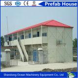 Heißer Verkaufs-modulares Haus/Behälter-Haus/Fertighaus des Stahlzwischenlage-Panels