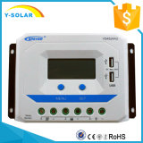 Regulador solar de Epsolar 45A 12V/24V con USB dual 2.4A Vs4524au