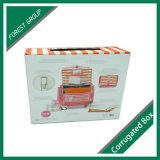 수화물 포장 상자를 인쇄하는 분홍색 색깔