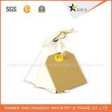 Бирка Hang Kraft картона офсетной печати изготовленный на заказ для одежды