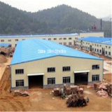 Costruzione progettata di prefabbricazione del gruppo di lavoro della struttura d'acciaio