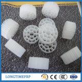 Sfera biologica del filtro dall'HDPE di trattamento di acque luride